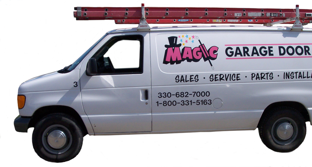 Magic Garage Door Service Van